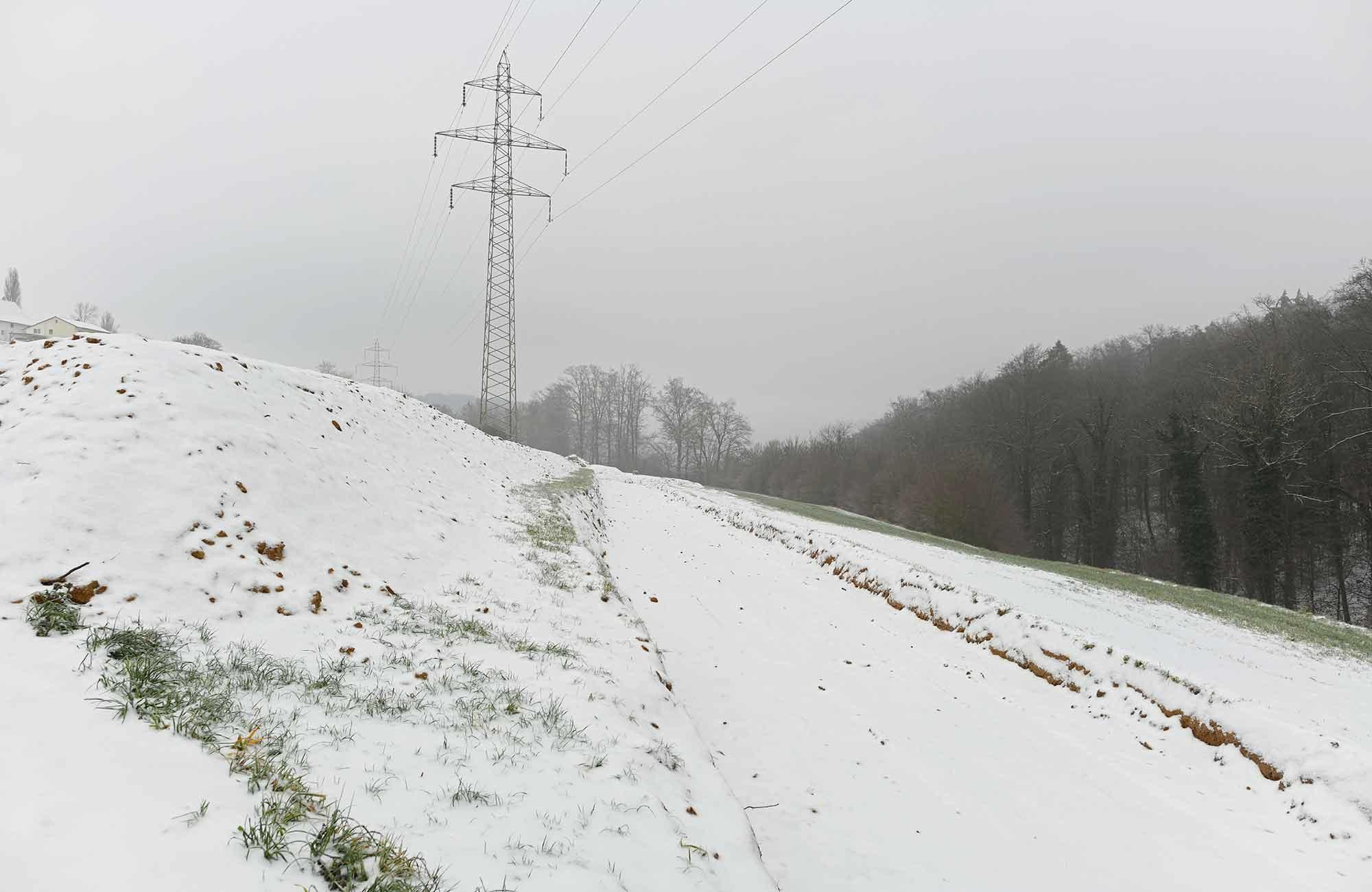 Swissgrid Übergangsbauwerk Bözbergstr Gäbihübel