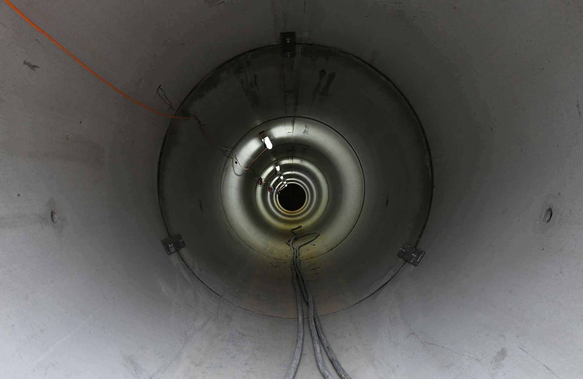 Swissgrid Übergangsbauwer Süd SBB-Untertunnelung Gäbihübel
